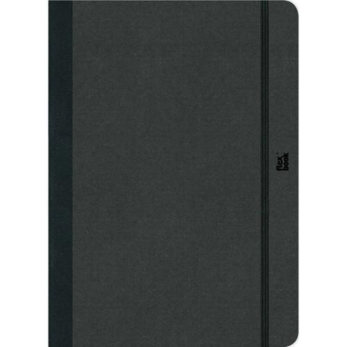 "Prat Flexbook Sketchbook with 80 Pages (Black, 8.5 x 12.25"")"