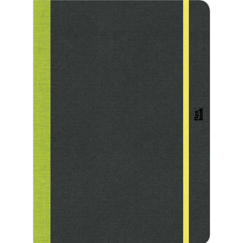 """Prat Flexbook Sketchbook with 80 Pages (Lime Green, 8.5 x 12.25"""")"""