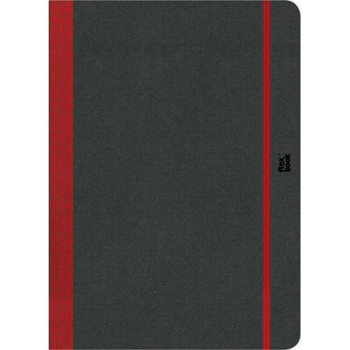 "Prat Flexbook Sketchbook with 80 Pages (Red, 8.5 x 12.25"")"