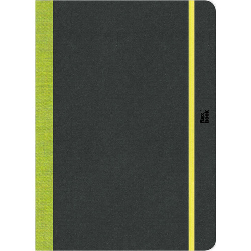 """Prat Flexbook Sketchbook with 80 Pages (Lime Green, 6 x 8.5"""")"""