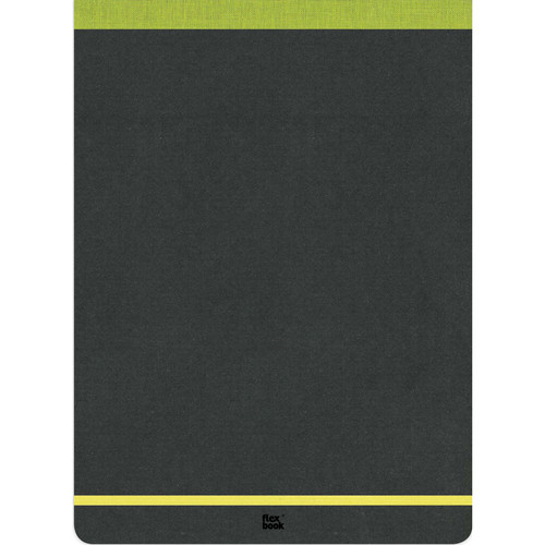 "Prat Flexbook Notepad with 160 Ruled Perforated Pages (Lime Green, 8.25 x 11"")"