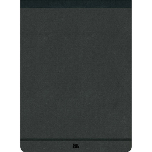"Prat Flexbook Notepad with 160 Ruled Perforated Pages (Black, 8.25 x 11"")"