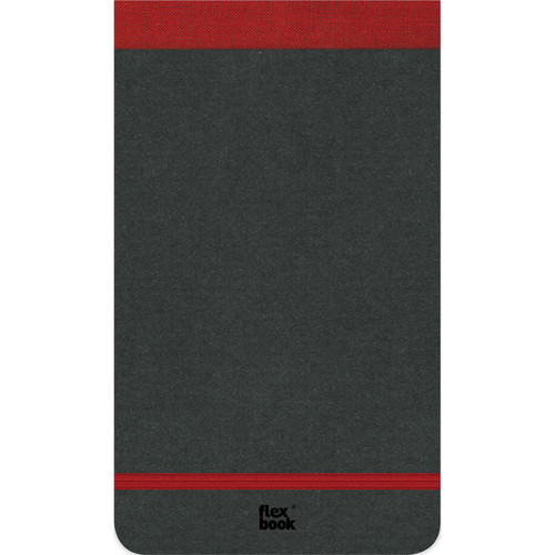 "Prat Flexbook Notepad with 160 Ruled Perforated Pages (Red, 4 x 6.75"")"