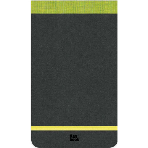 "Prat Flexbook Notepad with 160 Ruled Perforated Pages (Lime Green, 4 x 6.75"")"