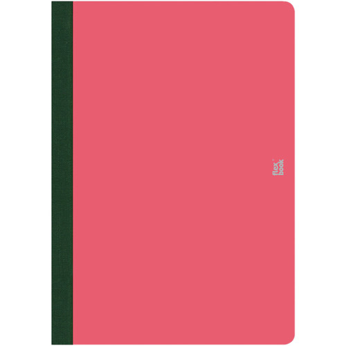 """Prat Flexbook Smartbook Journal with 160 Ruled 70 gms Pages (6¾ x 9½"""", Pink)"""