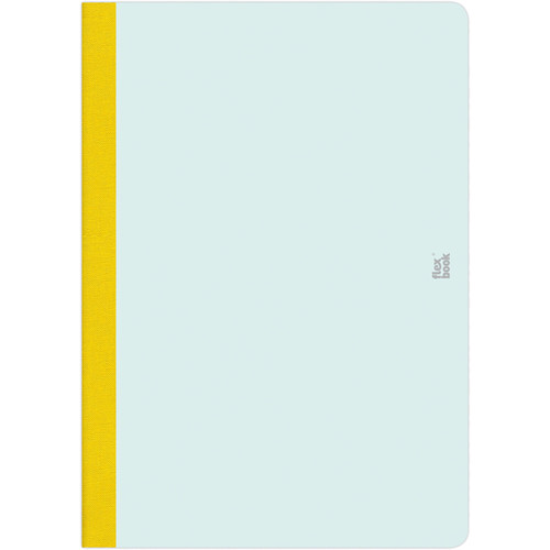 "Prat Flexbook Smartbook Journal with 160 Ruled 70 gms Pages (6¾ x 9½"", Mint Green)"