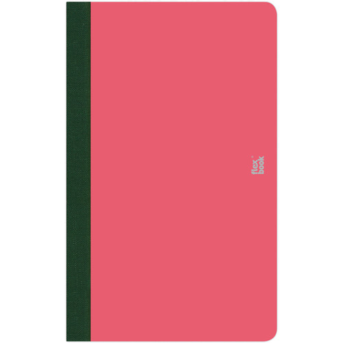 """Prat Flexbook Smartbook Journal with 160 Ruled 70 gms Pages (5 x 8¼"""", Pink)"""