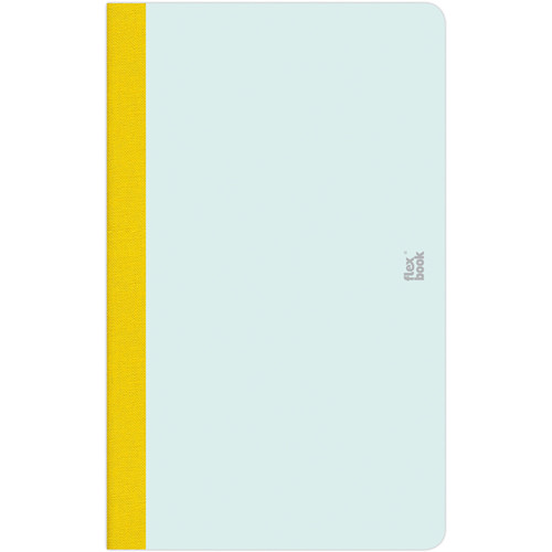 "Prat Flexbook Smartbook Journal with 160 Ruled 70 gms Pages (5 x 8¼"", Mint Green)"