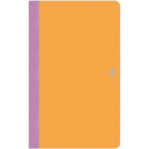 "Prat Flexbook Smartbook Journal with 160 Ruled 70 gms Pages (5 x 8¼"", Orange)"