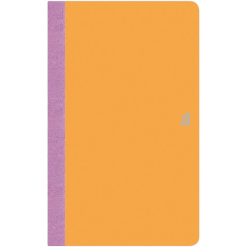 "Prat Flexbook Smartbook Journal with 160 Ruled 70 gms Pages (5 x 8¼"", Orange)"