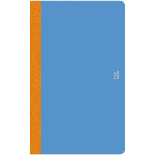 """Prat Flexbook Smartbook Journal with 160 Ruled 70 gms Pages (5 x 8¼"""", Royal Blue)"""