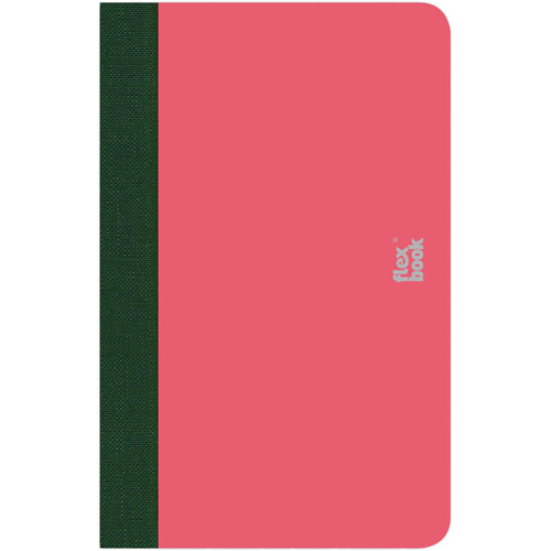 """Prat Flexbook Smartbook Journal with 160 Ruled 70 gms Pages (3½ x 5½"""", Pink)"""