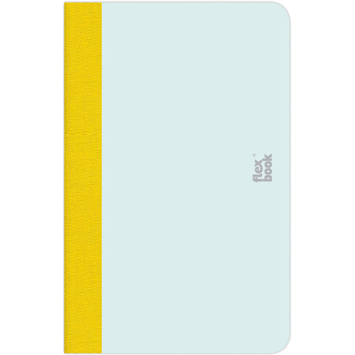 "Prat Flexbook Smartbook Journal with 160 Ruled 70 gms Pages (3½ x 5½"", Mint Green)"