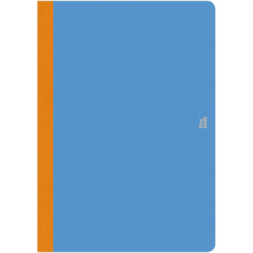 """Prat Flexbook Smartbook Journal with 160 Ruled 70 gms Pages (6¾ x 9½"""", Royal Blue)"""