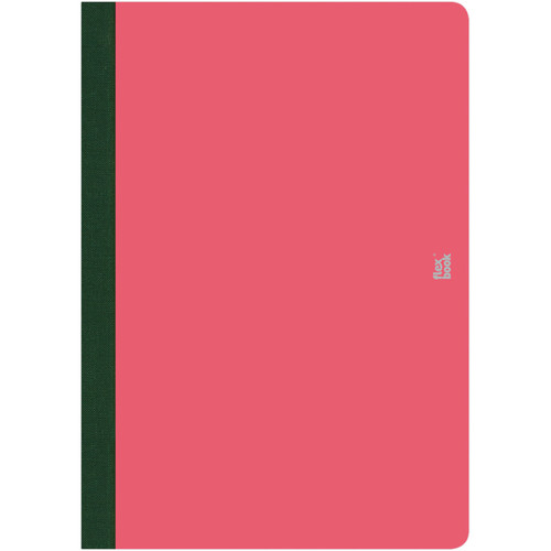 "Prat Flexbook Smartbook Journal with 160 Blank 70 gms Pages (6¾ x 9½"", Pink)"