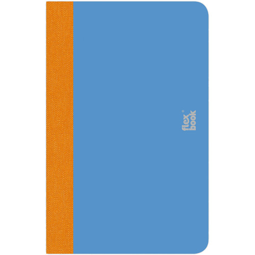 "Prat Flexbook Smartbook Journal with 160 Ruled 70 gms Pages (3½ x 5½"", Royal Blue)"