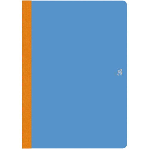 "Prat Flexbook Smartbook Journal with 160 Blank 70 gms Pages (6¾ x 9½"", Royal Blue)"