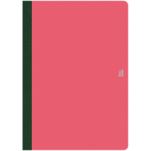 """Prat Flexbook Smartbook Journal with 160 Blank 70 gms Pages (5 x 8¼"""", Pink)"""