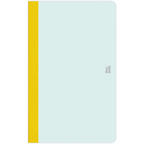 """Prat Flexbook Smartbook Journal with 160 Blank 70 gms Pages (5 x 8¼"""", Mint Green)"""