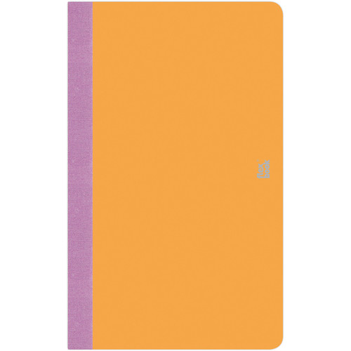 "Prat Flexbook Smartbook Journal with 160 Blank 70 gms Pages (5 x 8¼"", Orange)"