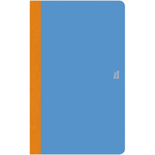 """Prat Flexbook Smartbook Journal with 160 Blank 70 gms Pages (5 x 8¼"""", Royal Blue)"""