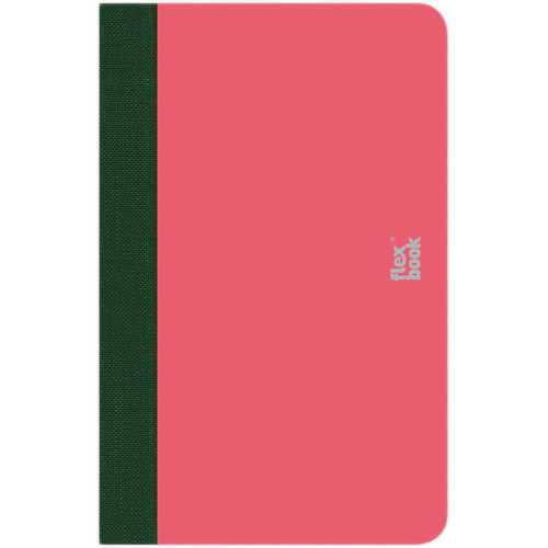 """Prat Flexbook Smartbook Journal with 160 Blank 70 gms Pages (3½ x 5½"""", Pink)"""