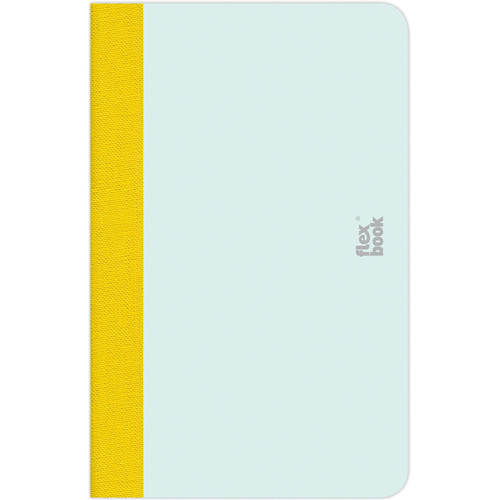 """Prat Flexbook Smartbook Journal with 160 Blank 70 gms Pages (3½ x 5½"""", Mint Green)"""