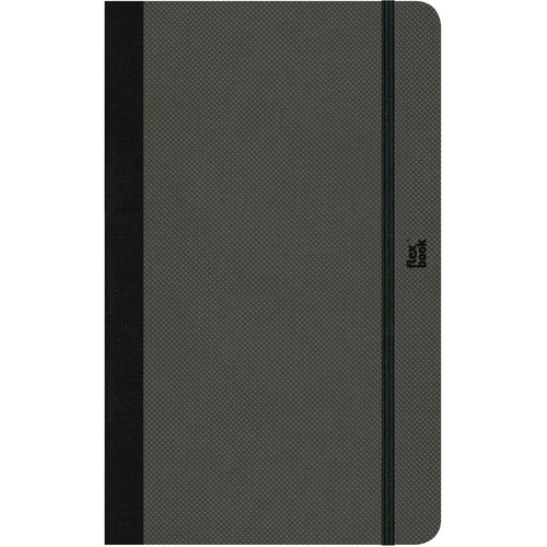 Prat Flexbook Adventure Notebook (Off Black, Blank Pages)