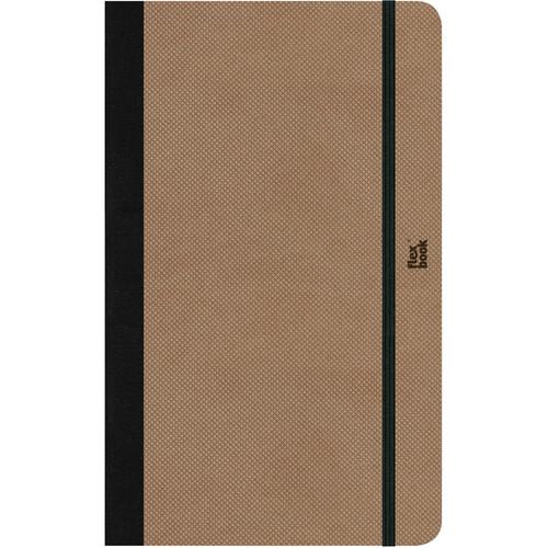 Prat Flexbook Adventure Notebook (Camel, Blank Pages)