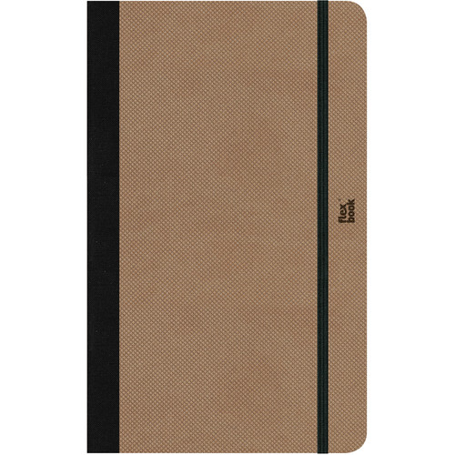 Prat Flexbook Adventure Notebook (Camel, Dotted Pages)