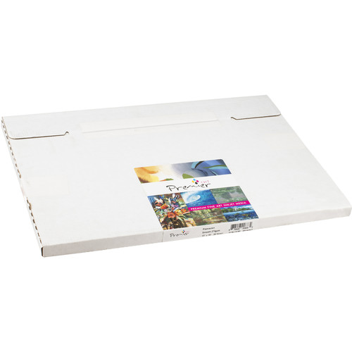 """Premier Imaging Smooth Fine Art Natural White Paper (270 gsm, 13 x 19"""", 25 Sheets)"""