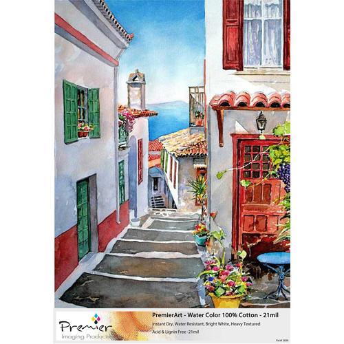 """Premier Imaging PremierArt Cold Press Watercolor Paper (11 x 17"""", 50 Sheets)"""