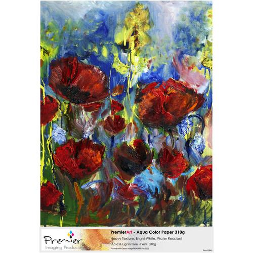 """Premier Imaging PremierArt Generations Aqua Color Paper (42"""" x 66' Roll)"""