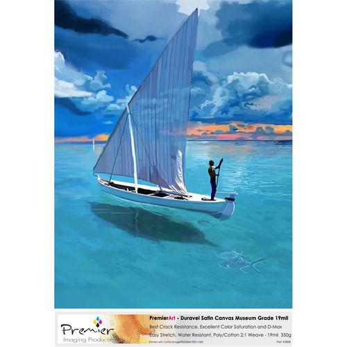 """Premier Imaging PremierArt Duravel Satin Canvas (8.5 x 11"""", 20 Sheets)"""