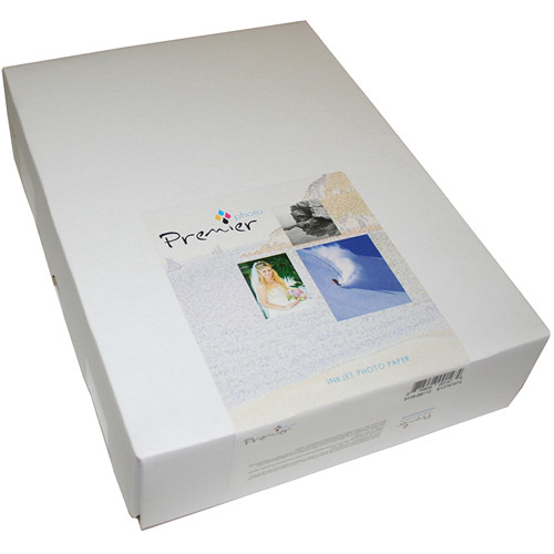 """Premier Imaging Generations Matte Canvas Photo Grade Paper (13 x 19"""", 10-Sheets)"""