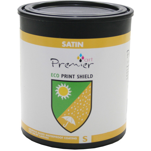 Premier Imaging ECO Print Shield Protective Coating (Satin, Quart)
