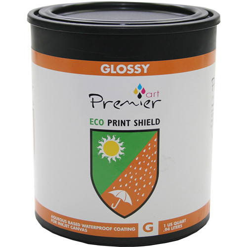 Premier Imaging ECO Print Shield Protective Coating (Gloss, Quart)