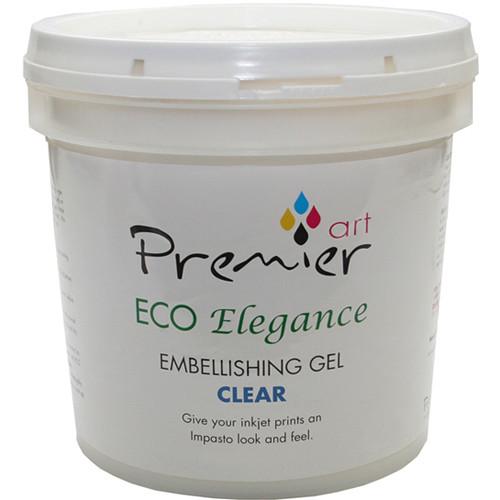 Premier Imaging ECO Elegance Inkjet Print Embellishing Gel (Clear, 5 Gallon)