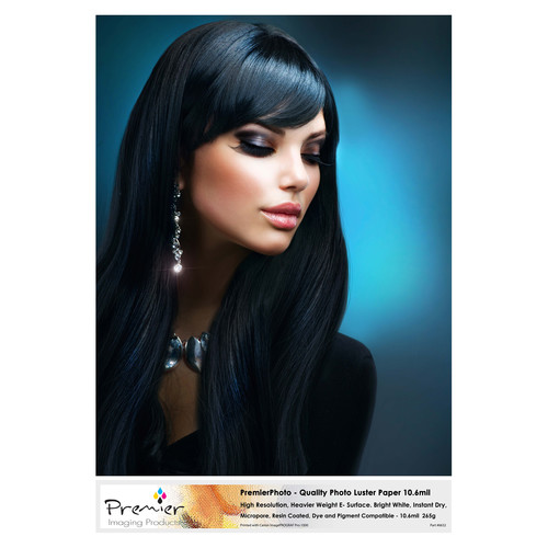 """Premier Imaging Quality Photo Luster Paper (8.5 x 11"""", 50 Sheets)"""