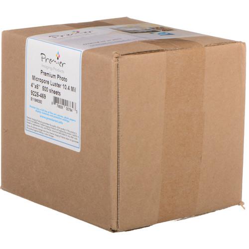 "Premier Imaging Premium Photo Luster Paper (4 x 6"", 500 Sheets)"