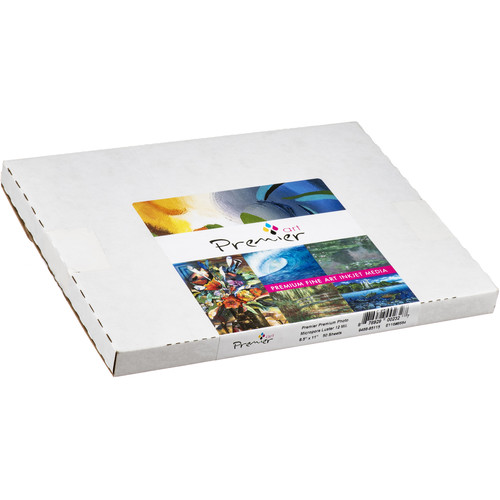 "Premier Imaging Premium Photo Luster Heavyweight Paper (8.5 x 11"", 50 Sheets)"