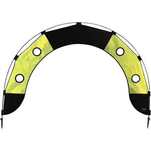 Premier Kites & Designs FPV Fly Under Arch (5 x 3', Black/Yellow)