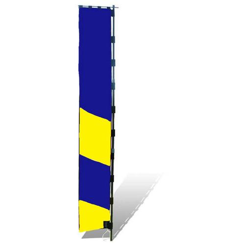 Premier Kites & Designs Horizon Logo 8' Marker Banner for Multirotor Race Tracks (10' Pole)
