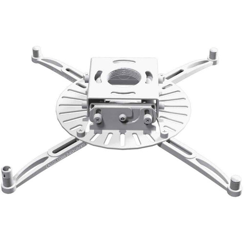 Premier Mounts PDS Low-Profile Universal Projector Mount with False Ceiling Adapter Kit (White)