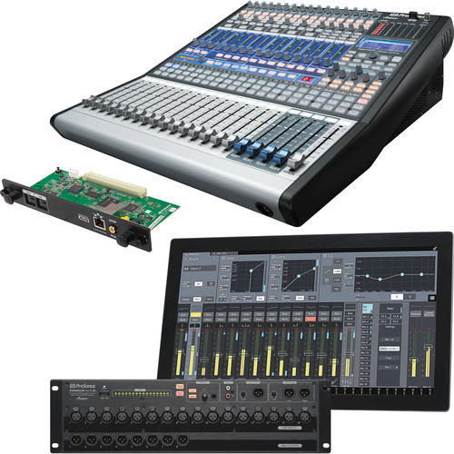 PreSonus 32-Input Digital Mixing System Kit