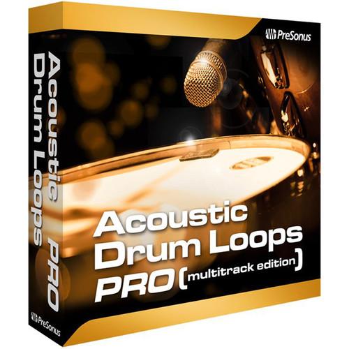 PreSonus Acoustic Drum Loops Pro - Multitrack Edition (Download)