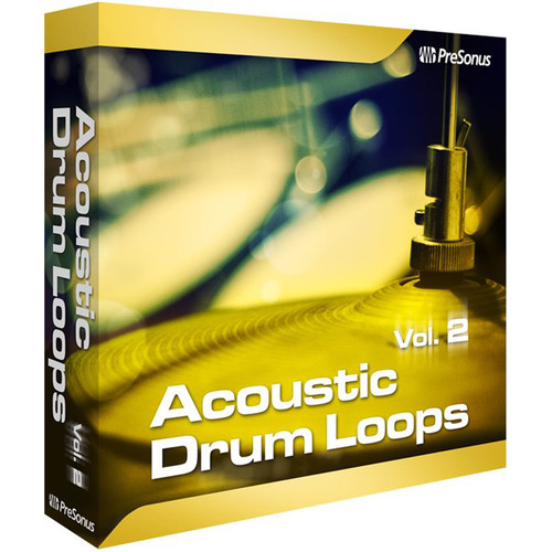 PreSonus Acoustic Drum Loops Volume 2 - Stereo (Download)