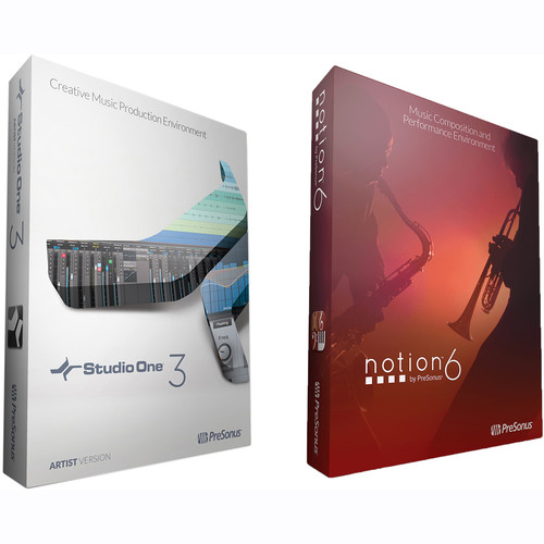 PreSonus Artist Bundle S1 ART3 and Notion 6 (Download)