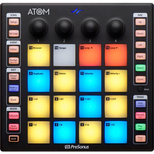 PreSonus ATOM Production and Performance Pad Controller