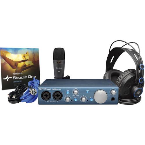 PreSonus AudioBox iTwo Studio - Complete Mobile Hardware/Software Recording Kit